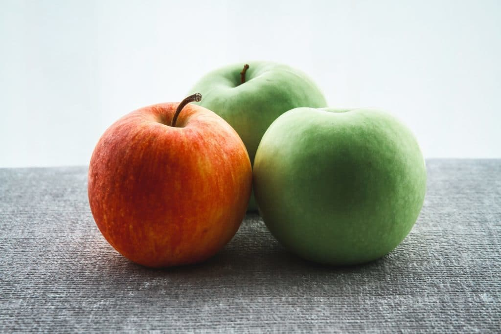 healthy food to lose weight apples