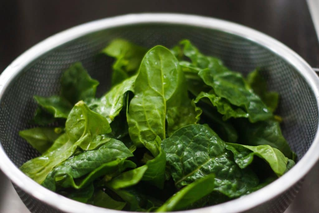 healthy food to lose weight spinach