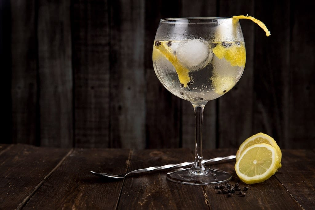 less calorie cocktails gin tonic