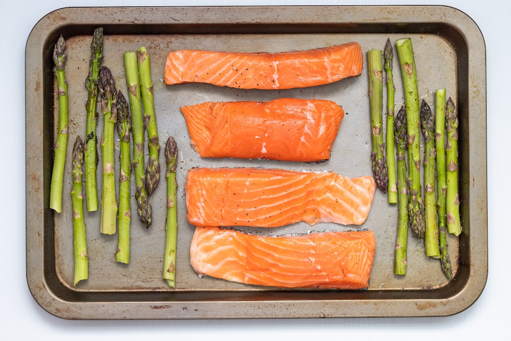 foods to increase you blood flow salmon