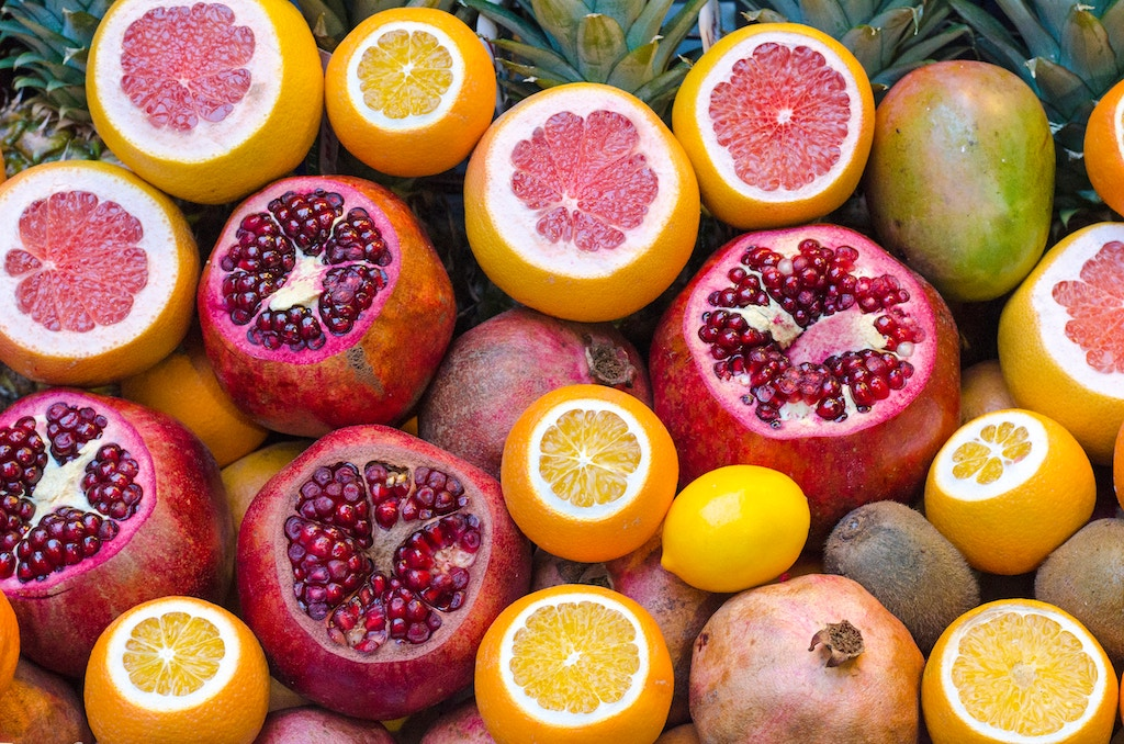 v citrus fruits