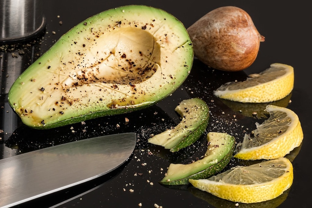 healthy anti-stress foods avocado